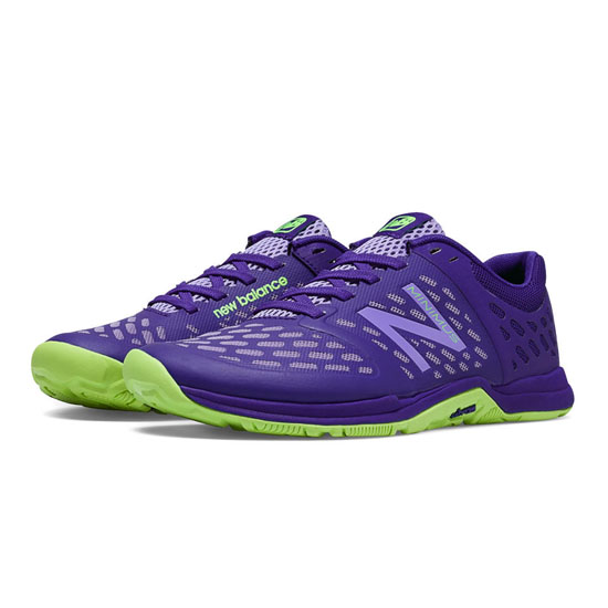 WOMEN'S New Balance Minimus 20v4 Cross-Trainer Spectrum Blue with Lime Green