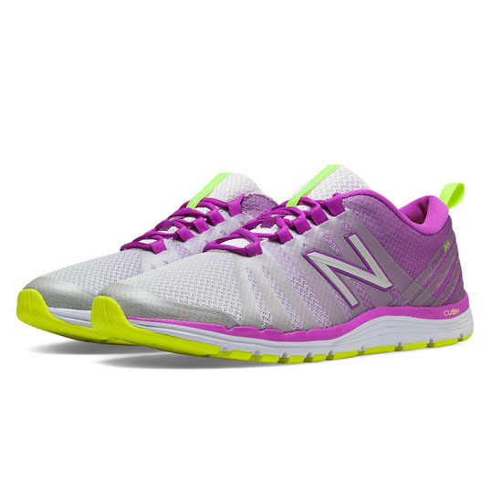 WOMEN'S New Balance 811 Voltage Violet with Light Yellow