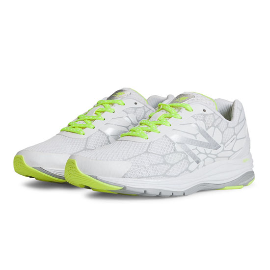 WOMEN'S New Balance 1745 White with Lime