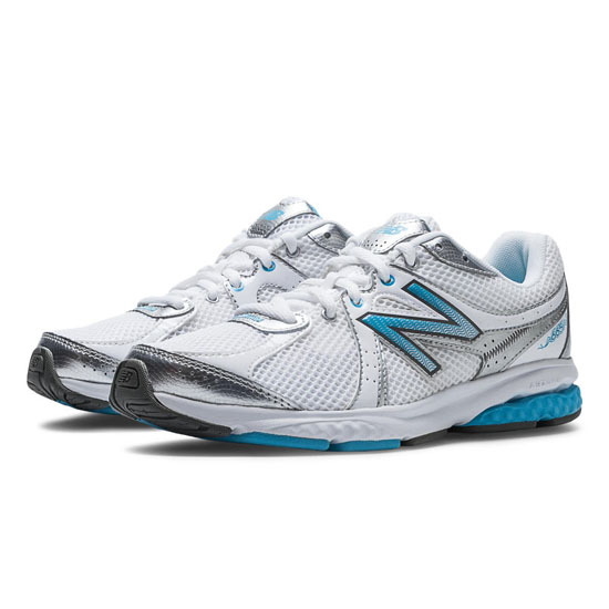 WOMEN'S New Balance 665 White with Blue