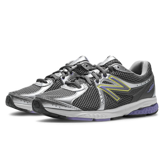 WOMEN'S New Balance 665 Silver with Purplehaze & Grey