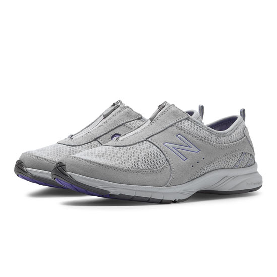 WOMEN'S New Balance Everlight 565 Grey with Purple