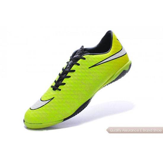Nike Hypervenom Phantom FG fluorescent green/white/black Shoes