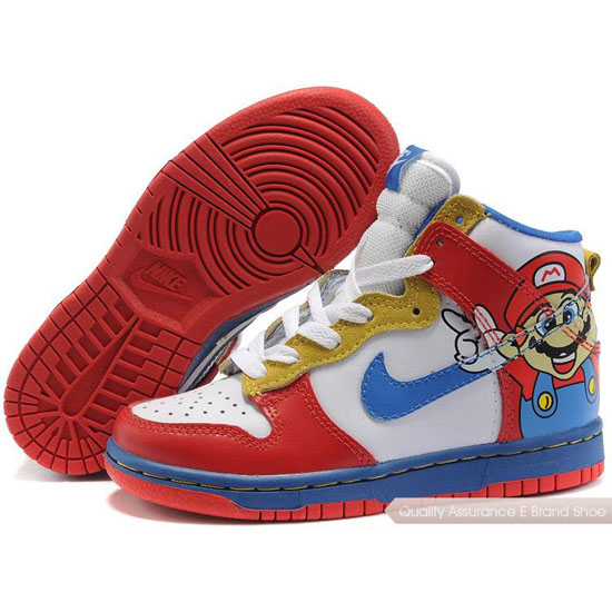 Nike Dunk SB Kids red/white/blue