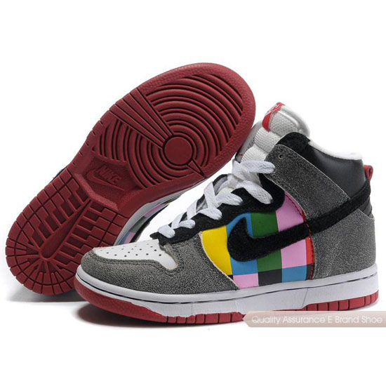 Nike Dunk SB Kids gray/black/white