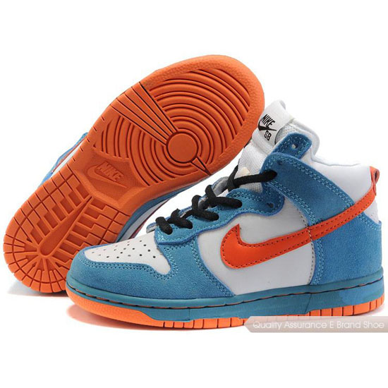 Nike Dunk SB Kids orange/blue/white