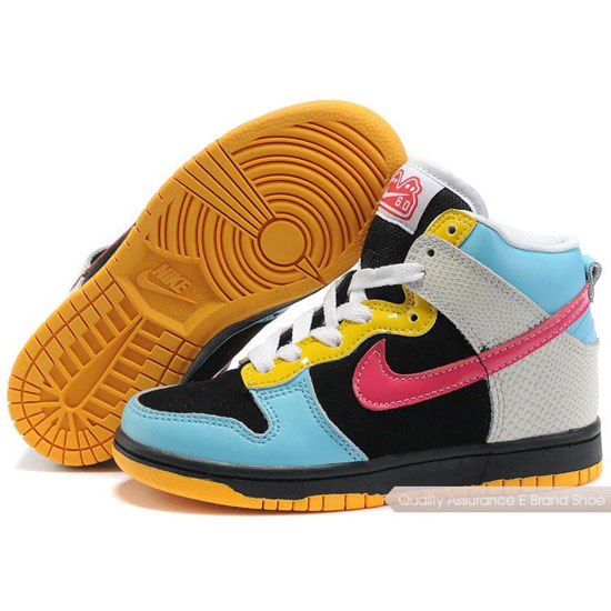 Nike Dunk SB Kids blue/cherry/black