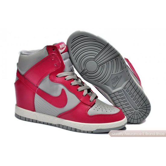 Nike Dunk SB Womens red/gray