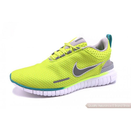 Nike Free OG Breeze Mens Fluorescent Green Gray