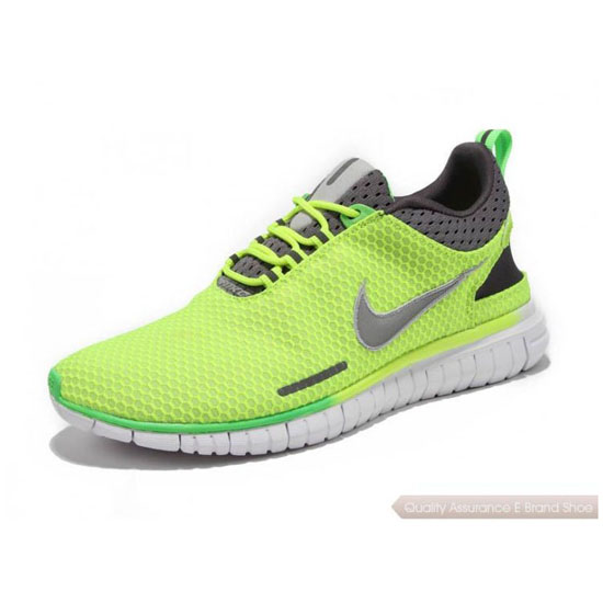 Nike Free OG Breeze Mens Fluorescent Green Coffee