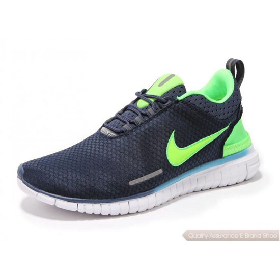 Nike Free OG Breeze Mens Black Fluorescent Green