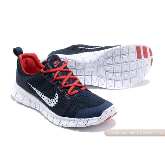 Nike Free Powerlines Mens Black Red White