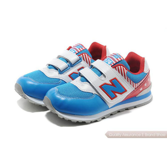 New Balance Kids blue/white/red