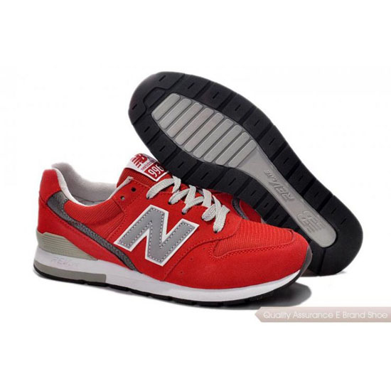 New Balance Mens gray/red