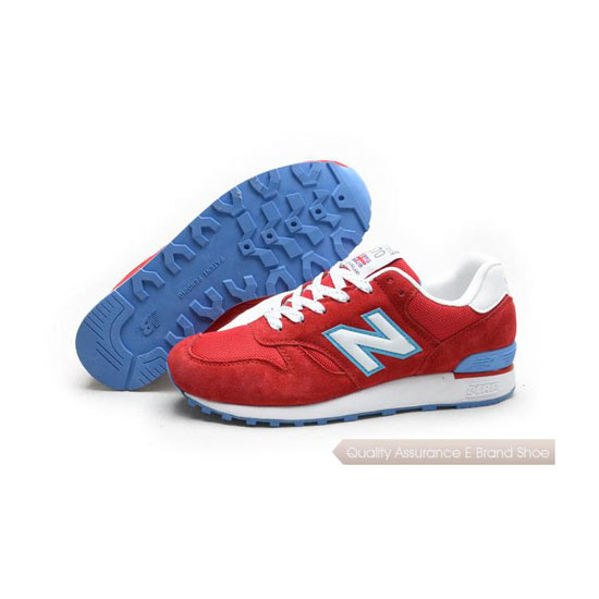 New Balance Womens red/blue/white