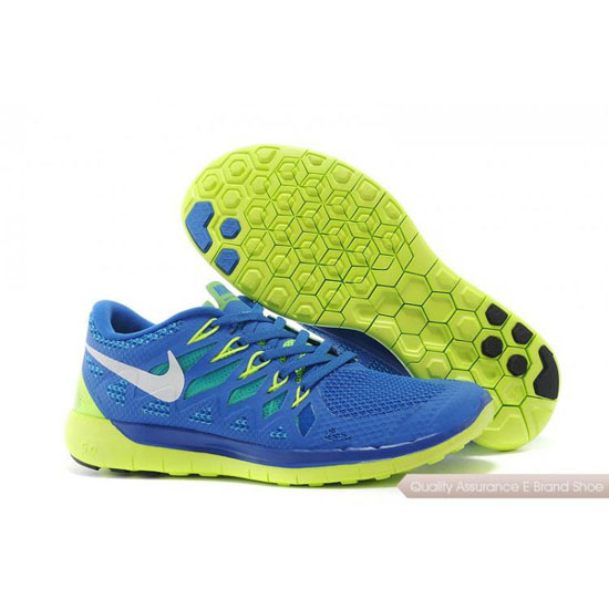 Nike Free 5.0 World Cup Mens Dark Blue Yellow Shoes