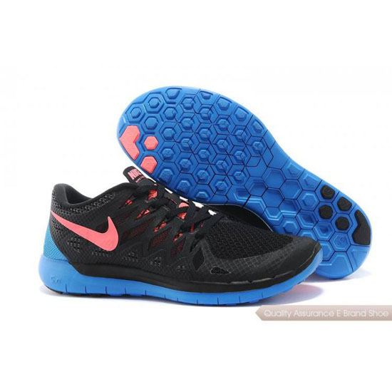 Nike Free 5.0 World Cup Mens Black Blue Shoes
