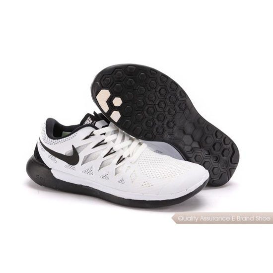 Nike Free 5.0 World Cup Unisex White Black Shoes