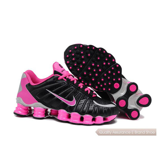 Nike Shox TLX Women peach/siver/black