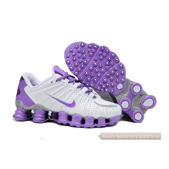 Nike Shox TLX Women purple/white/siver
