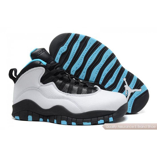 Nike Air Jordan Grey Black Blue Shoes