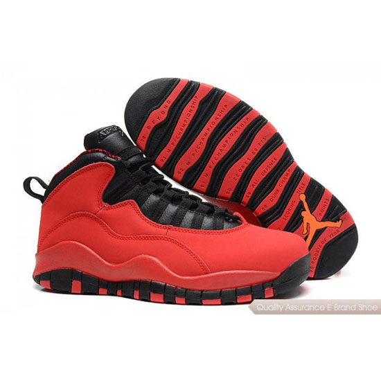 Nike Air Jordan Black Red Shoes