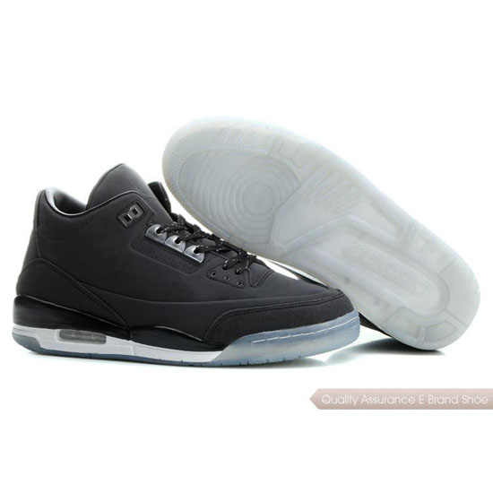 Nike Air Jordan Black White Shoes