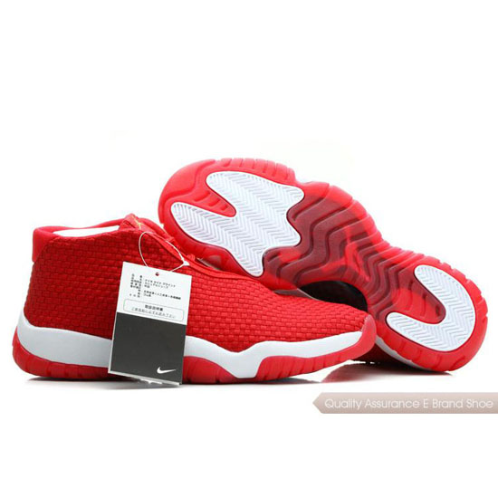 Nike Air Jordan Red White Shoes