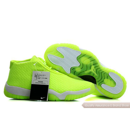 Nike Air Jordan Light Green White Shoes