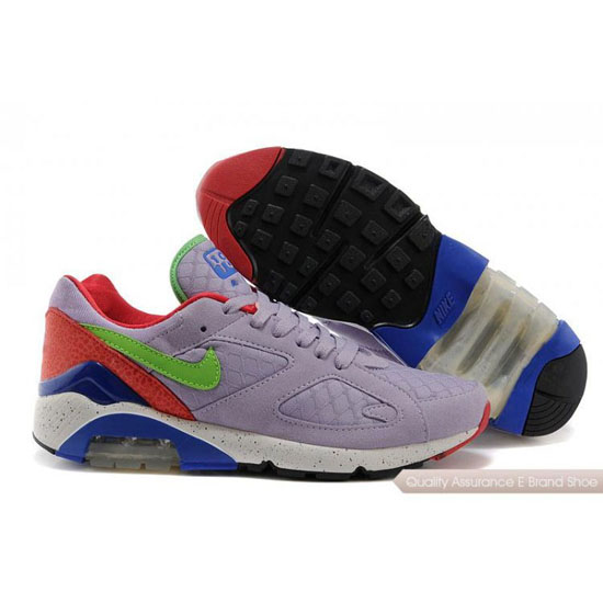Nike AIR MAX 180 EM Men Light Purple Red Shoes