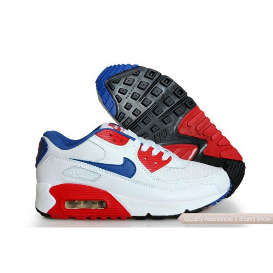 Nike Air Max 90 Mens Mens White Red Shoes