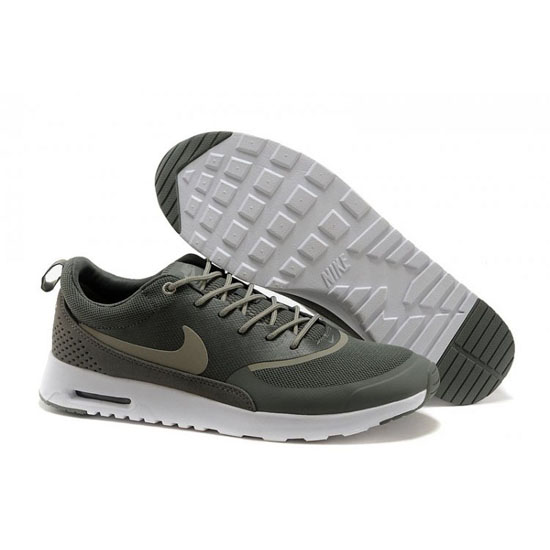 Nike Air Max Men\'s Thea Print Dark Green White Shoes