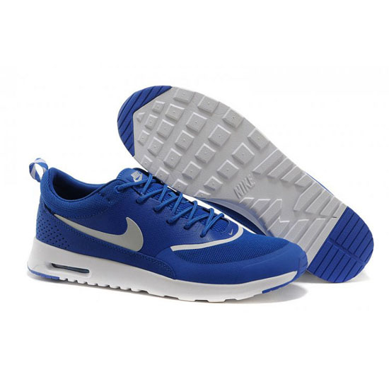 Nike Air Max Men's Thea Print Dark Blue White Shoes