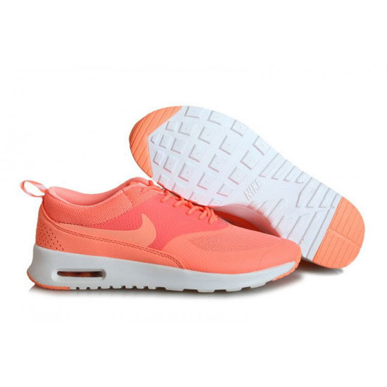 Nike Air Max Women's Thea Print Light Orange Red Shoes