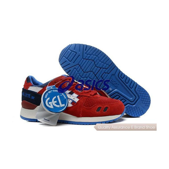 ASICS Gel-LYTE III Mens Red