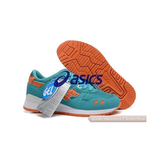 ASICS Gel-LYTE III Mens Green Orange