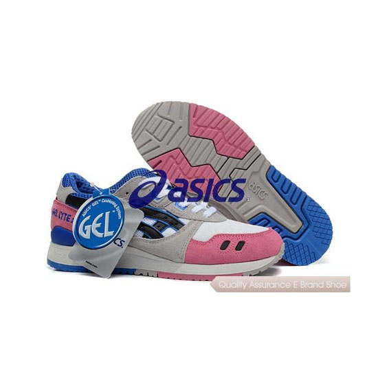 ASICS Gel-LYTE III Mens Grey Pink