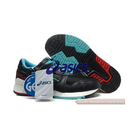 ASICS GEL-Lyte III Mens Black Blue