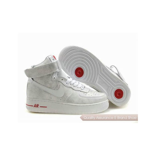 Nike Air Force 1 Womens All White Color Shoes