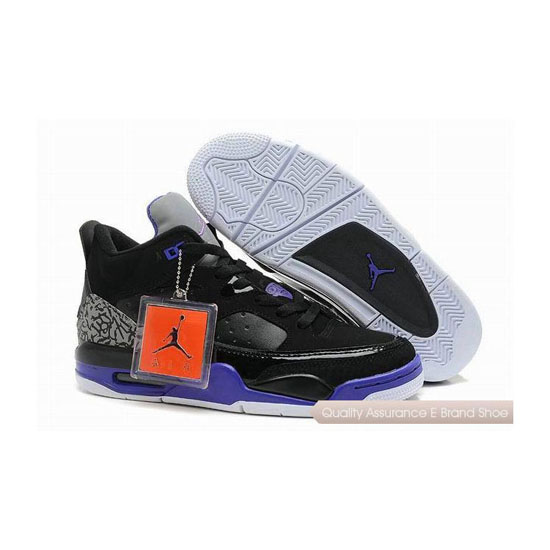 Nike Jordan Son of Mars Low Black/Grape Ice-White Sneakers
