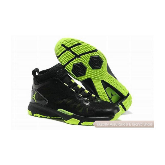 Nike Jordan Trunner Dominate Pro Black/Electric Green Sneakers