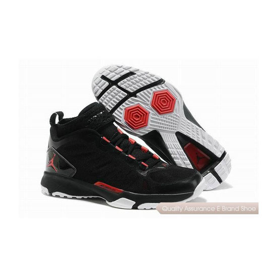 Nike Jordan Trunner Dominate Pro Black/Gym Red-Cement Grey Sneakers