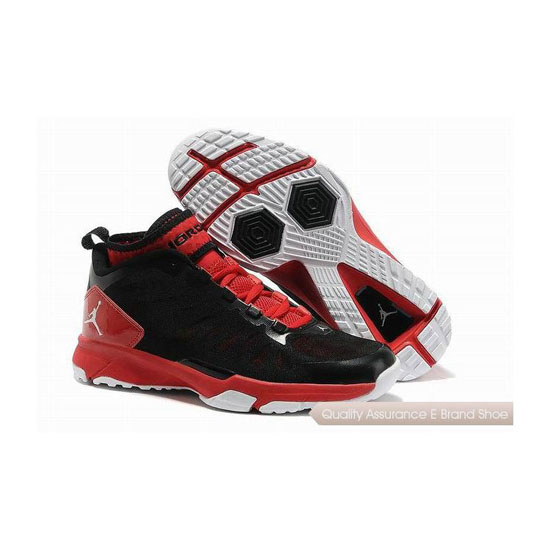 Nike Jordan Trunner Dominate Pro Black/White-Gym Red Sneakers