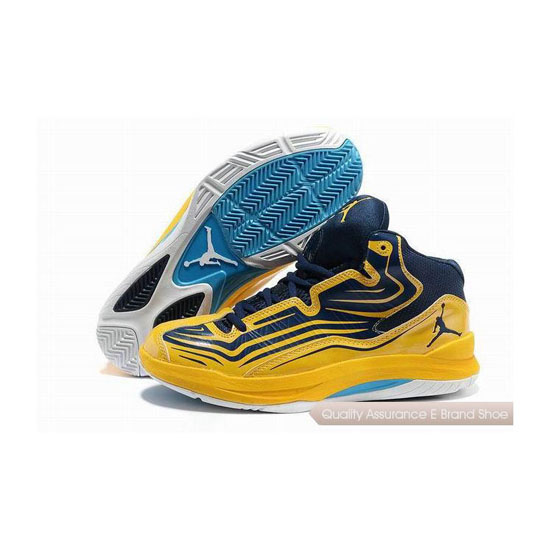 Nike Jordan Aero Mania Midnight Navy/Varsity Maize Sneakers