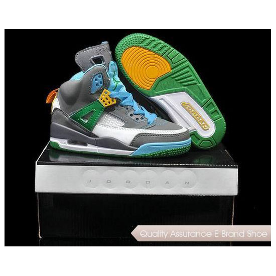 Nike Kids Air Jordan Spizike Easter Sneakers