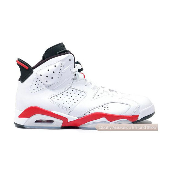 Nike Air Jordan 6 White/Infrared-Black 2014 Sneakers