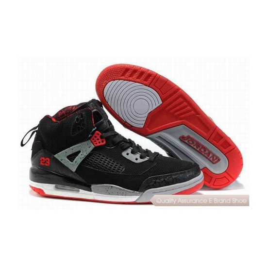 Nike Jordan Spizike Womens Black Red Sneakers