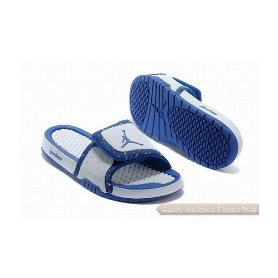 Nike Air Jordan Hydro 2 Slide White/Royal Blue Sneakers