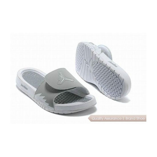 Nike Air Jordan Hydro 2 Slide Wolf Grey/White Sneakers