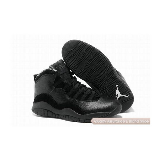 Nike Air Jordan 10 Retro Black/White Sneakers